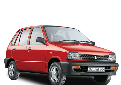 Maruti 800 Front Low Angle View Exterior Picture