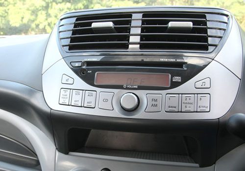 Maruti A-Star Stereo Interior Picture