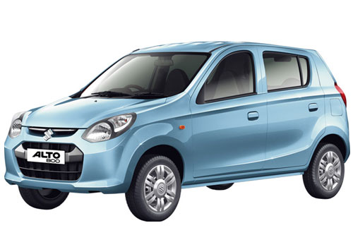 Maruti Alto 800 in Frost Blue Color