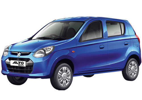 Maruti Alto 800 in Torque Blue Pearl Color