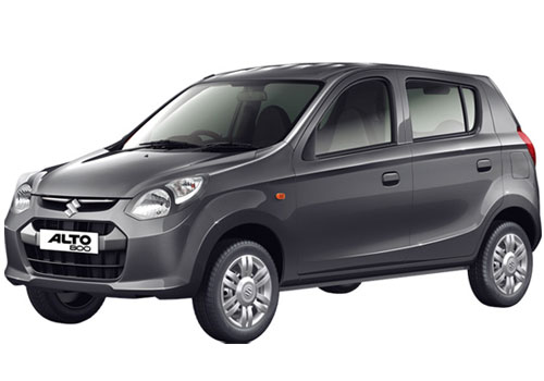 Maruti Alto 800 in Granite Grey Color