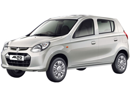 Maruti Alto 800 in Silky Silver Color