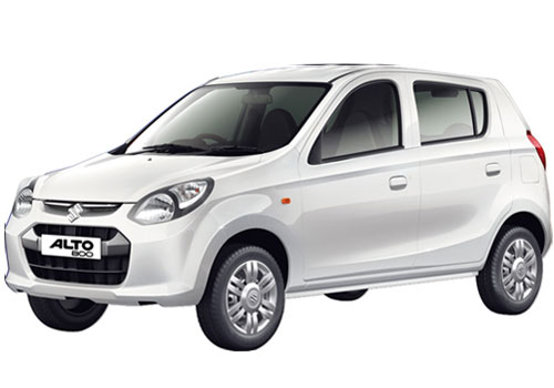 Maruti Alto 800 in Superior White Color