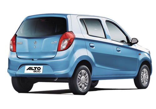 Maruti Alto 800 Rear Angle View Picture