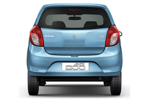 Maruti Alto 800 Rear View Picture