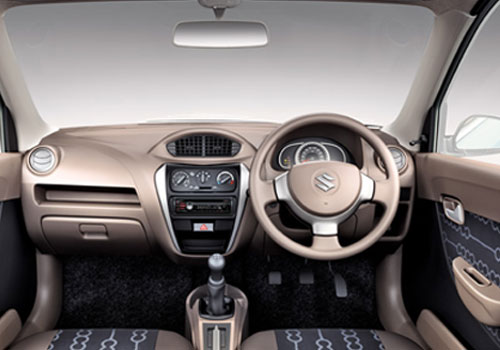 Image gallery 2014 alto 800 inside for Interior decoration of maruti 800