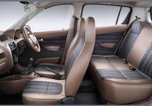 Maruti Alto 800 Third Row Seat Picture
