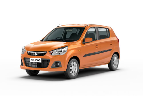 Maruti Alto K10 Front View Side Picture
