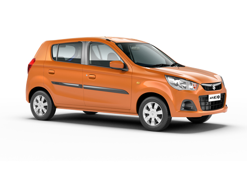 Maruti Alto K10 Front Side View Exterior Picture
