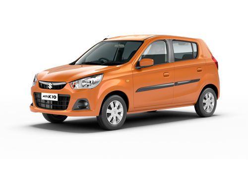 Maruti Alto K10 Front Angle Low Wide Exterior Picture