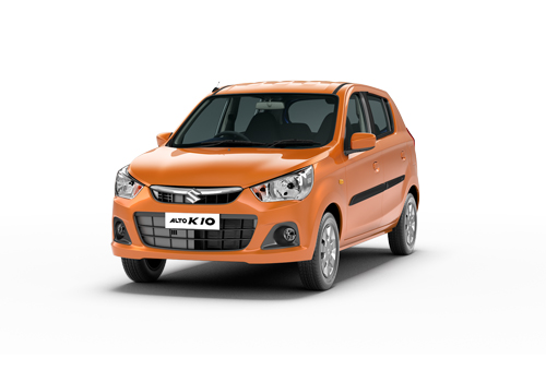 Maruti Alto K10 Front Medium View Exterior Picture