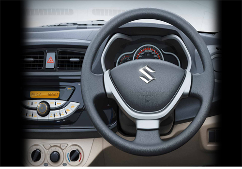 Maruti Suzuki Alto K10 Steering Wheel Picture