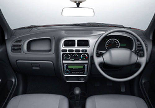 Maruti Alto Central Control Interior Picture