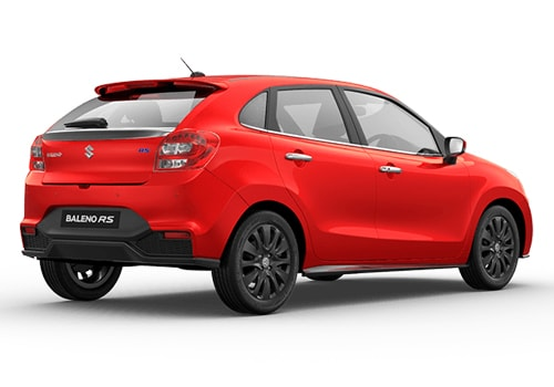 Maruti Baleno RS Rear Angle View Exterior Picture