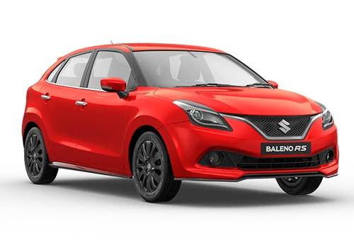 Maruti Baleno RS Front Side View Exterior Picture