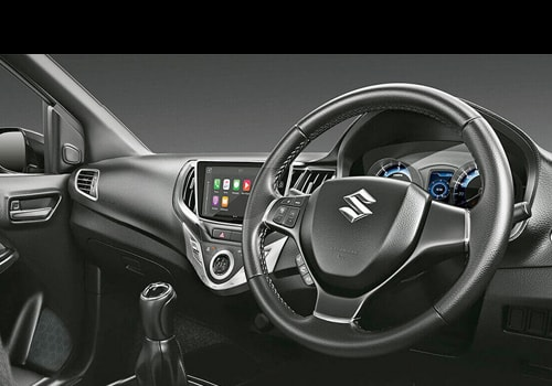 Maruti Baleno RS Central Control Interior Picture