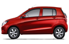 Maruti Celerio in Blazing Red color