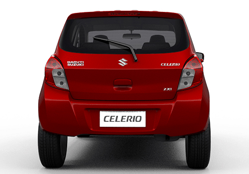 Maruti Celerio Rear View Exterior Picture