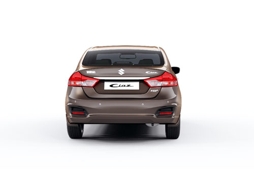 Maruti Ciaz Rear View Exterior Picture