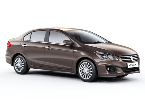 Maruti Ciaz Front Side View Exterior Picture