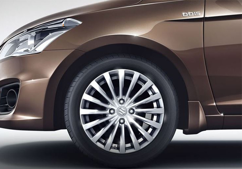Maruti Ciaz Wheel and Tyre Exterior Picture