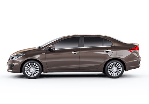 Maruti Ciaz Front Angle Side View Exterior Picture