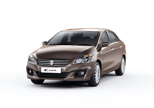 Maruti Ciaz Front High Angle View Exterior Picture