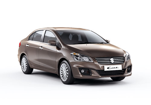 Maruti Ciaz Front Low Angle View Exterior Picture