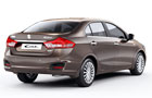 Maruti Ciaz Rear Angle View Picture