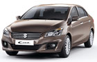 Maruti Ciaz Front High Angle View Picture
