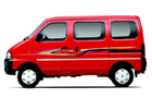 Maruti Eeco in Red Color