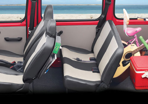 Maruti Eeco Rear Seats Interior Picture