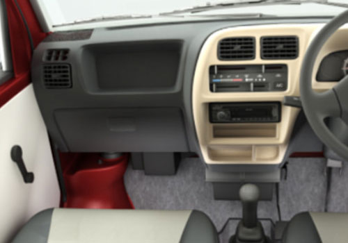 maruti eeco dashboard cabin interior picture. Black Bedroom Furniture Sets. Home Design Ideas