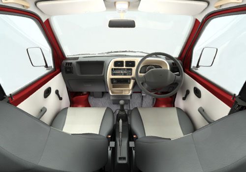 Maruti Eeco Central Control Interior Picture