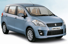 Maruti Ertiga in Blue Color