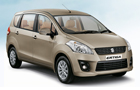 Maruti Ertiga in Beige Color