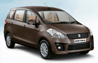 Maruti Ertiga in Brown Color