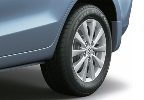 Maruti Ertiga Wheel and Tyre Exterior Picture
