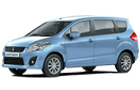 Maruti Ertiga Front Side View Picture