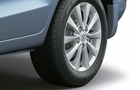 Maruti Ertiga Wheel and Tyre Picture