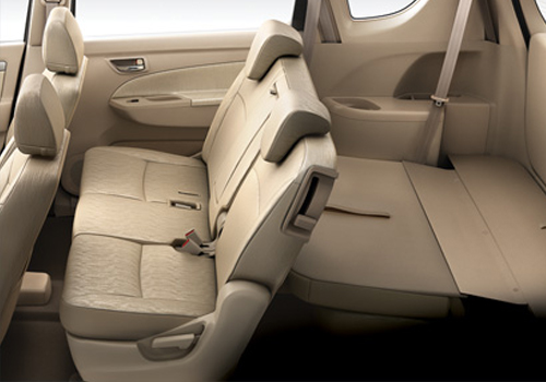 Maruti Ertiga Rear Seats Interior Picture