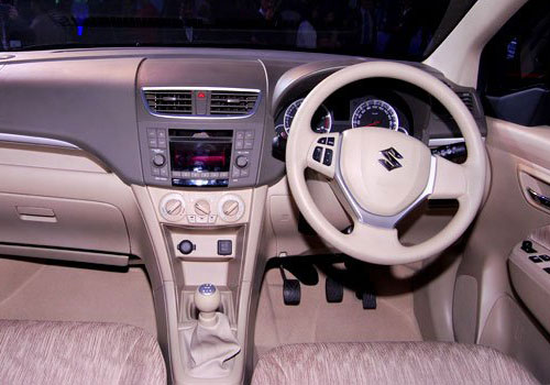Maruti Ertiga Steering Wheel Interior Picture