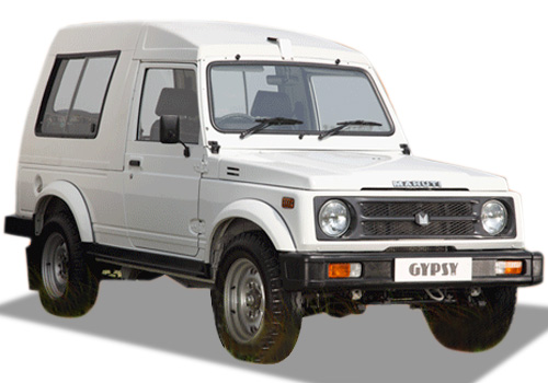 Maruti Gypsy Front Low Angle View Exterior Picture