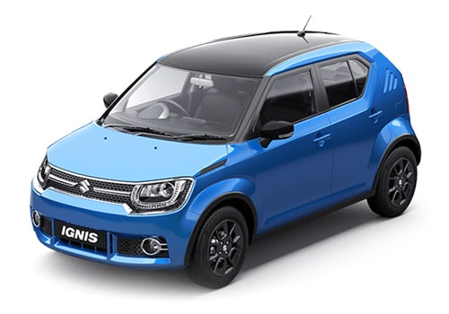 Maruti Ignis Front Angle View Exterior Picture