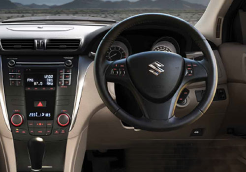 Maruti Kizashi Steering Wheel Interior Picture