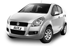 Maruti Ritz White Color