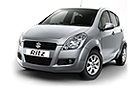 Maruti Ritz Silver Color