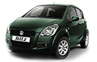 Maruti Ritz Green Color