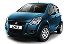 Maruti Ritz Blue Color