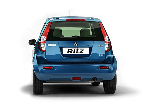 Maruti Ritz Rear View Exterior Picture